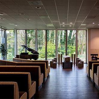 Aula Crematorium Ede (Slingerbos) - Estia uitvaarten