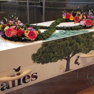 Estia Uitvaarten, rouwbloemen