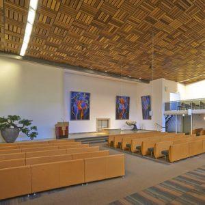 Grote zaal Crematorium Dieren - Estia uitvaarten