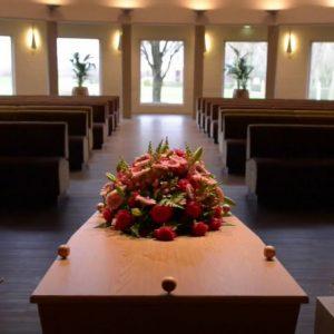 Grote zaal Crematorium Beuningen Rijk van Nijmegen - Estia uitvaarten 8