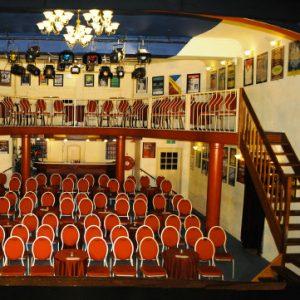 Theater Het Hof, Estia uitvaarten