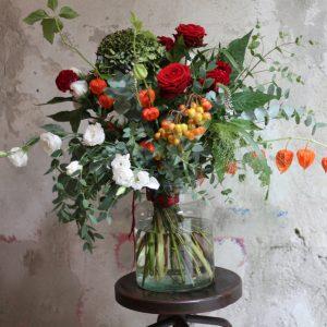 Thema thuis uitvaart bloemen -Estia Uitvaarten
