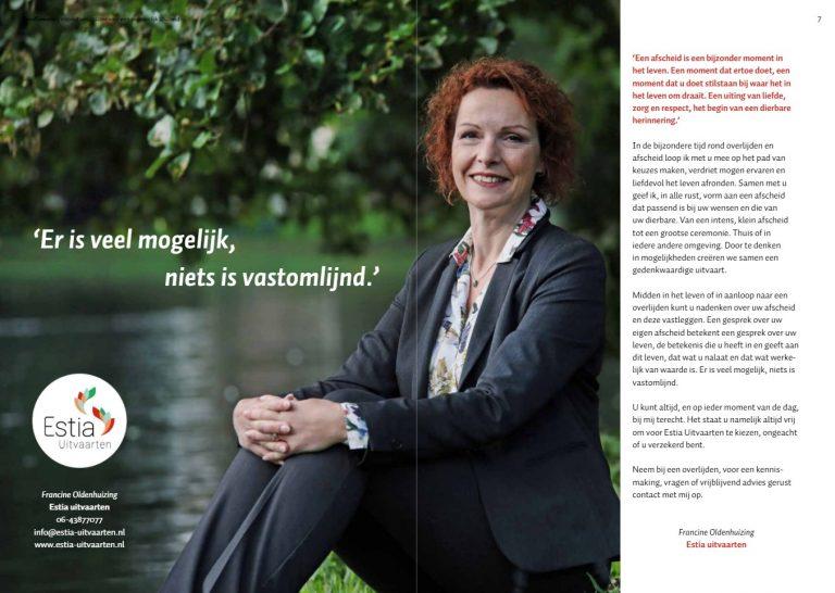 Estia Uitvaarten - Uitvaart Inspiratie magazine Doodgewoon artikel